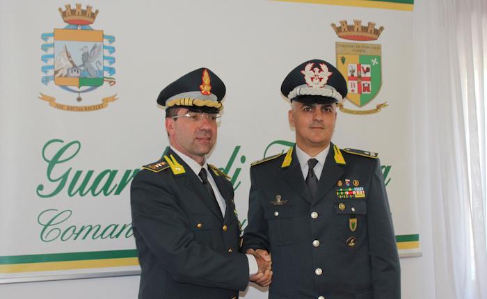 Guardia di Finanza, cambio al vertice a Varese: il Generale di Brigata Marco Lainate nuovo comandante
