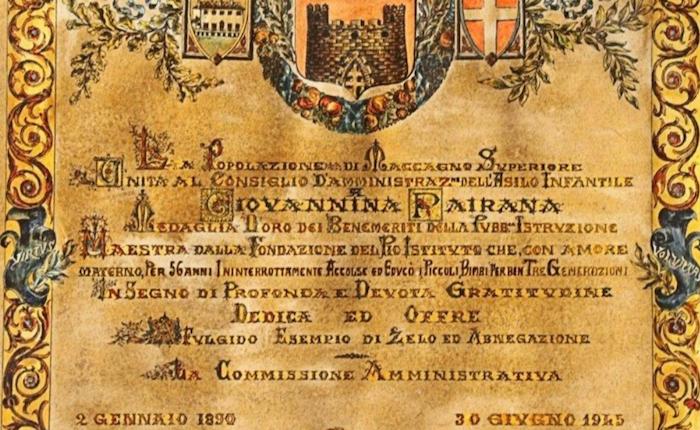 Maccagno con Pino e Veddasca: la storia di Giannina Pairana, una vita dedicata all'infanzia