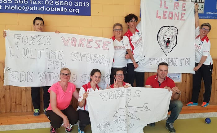 Coppa Italia, Bocce: per Varese sorrisi dal settore femminile