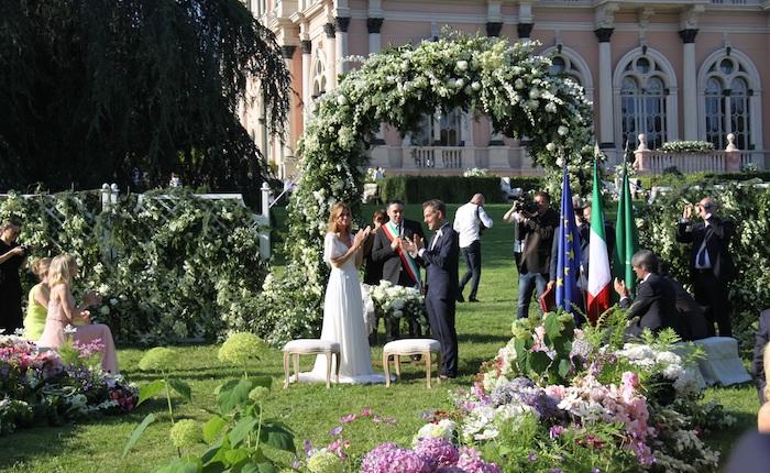 Ville Ponti, con Filippa Lagerbäck e Daniele Bossari brilla anche Varese. Al top il wedding tourism