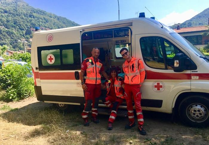 Estate al Parco Giona, più sicuri con la Croce Rossa di Luino. Servizio su tutto il territorio