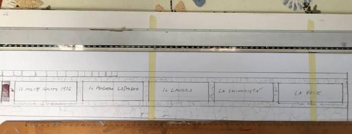 Maccagno, in fase conclusiva i lavori in centro tra l'ex Canonica e il Monumento ai caduti