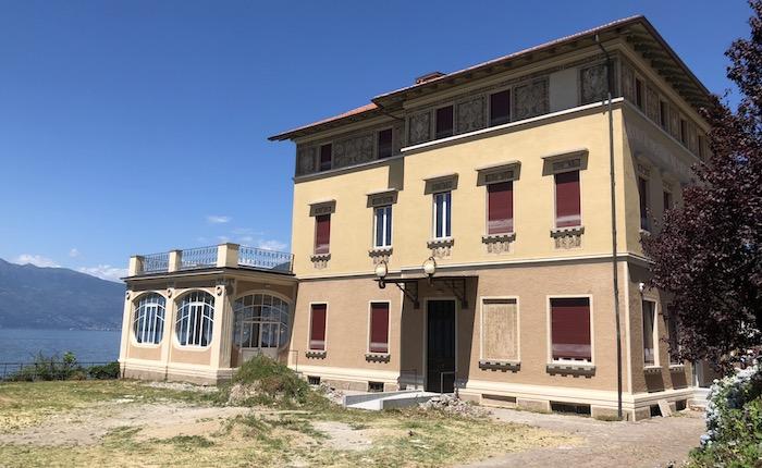 Luino, Palazzo Verbania: oggi al via i lavori per la scalinata a lago. Pellicini: