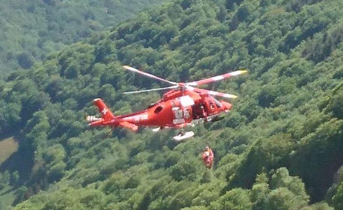 Ticinonline - Incidente in Verzasca, ferito un motociclista