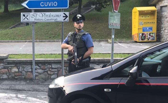 Fermato nei boschi della Valcuvia con 95 grammi di cocaina, arrestato 36enne