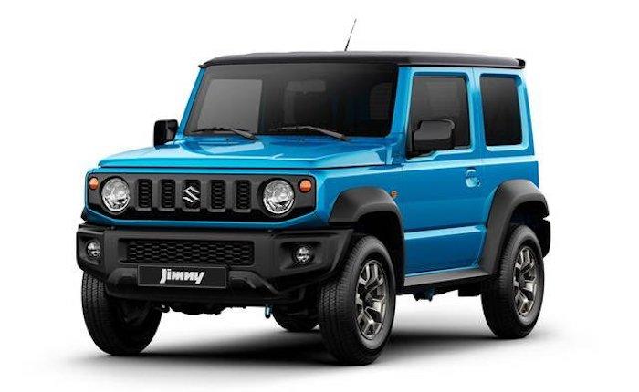 La nuova Suzuki Jimny sta arrivando anche a Brissago Valtravaglia