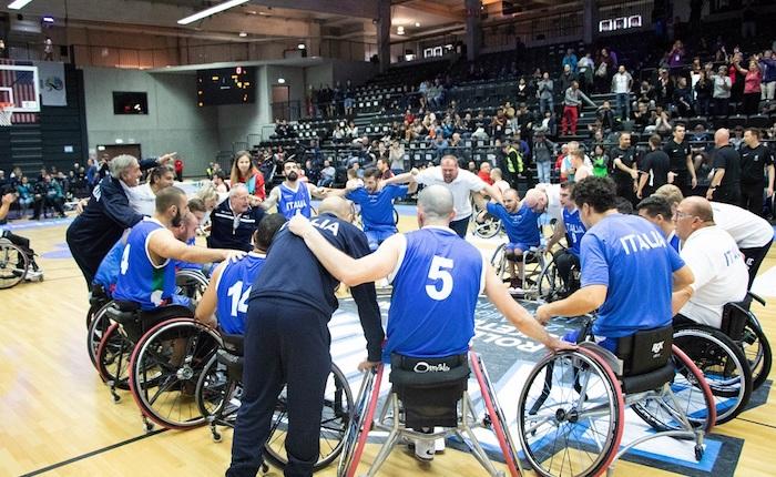 Mondiale Basket in Carrozzina, l'Italia chiude con una vittoria sul Canada