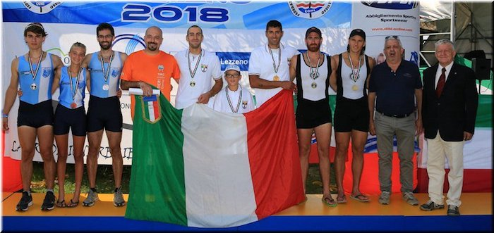 Canottieri Germignaga spettacolare: poker d'oro ai campionati italiani di Eupilio