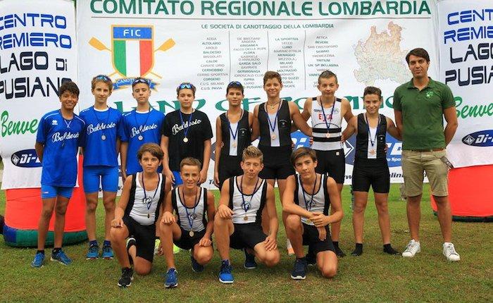 Canottieri Germignaga, due medaglie dalla trasferta sul lago di Pusiano