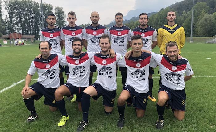 Il Luino-Maccagno dei giovani rimonta, 1-1 con l'Antoniana grazie al gol di Marku