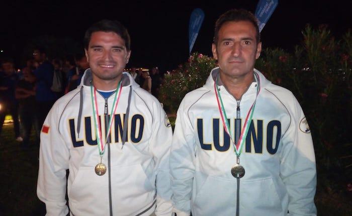 La Canottieri Luino sul podio con il doppio Master ai Tricolori Coastal di Palermo