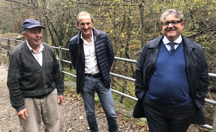 Elezioni provinciali, Antonelli in visita a Curiglia con Monteviasco: