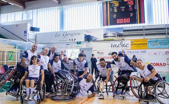 Basket in Carrozzina, trionfo Briantea 84 in Supercoppa Italiana