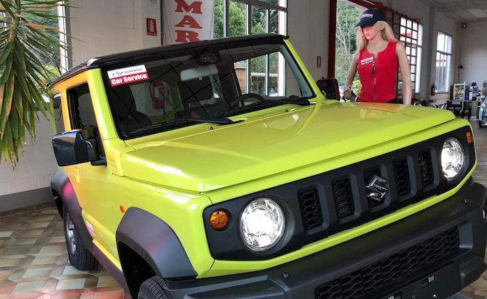Brissago Valtravaglia, la nuova Suzuki Jimny è arrivata in anteprima nell'Alto Varesotto