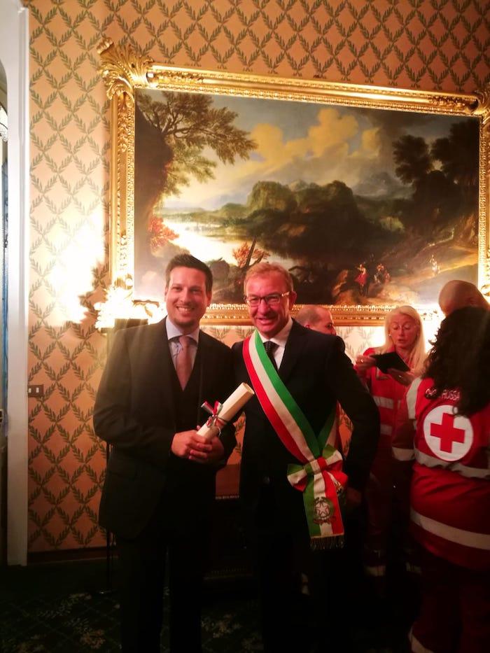Rese pubbliche le motivazioni della nomina a Cavalieri della Repubblica dei luinesi Buchi e Lusa