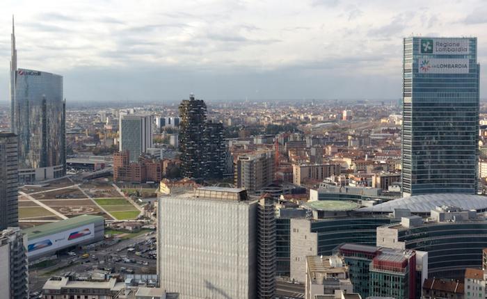 Milano Il Belvedere Di Palazzo Lombardia Riapre Al Pubblico