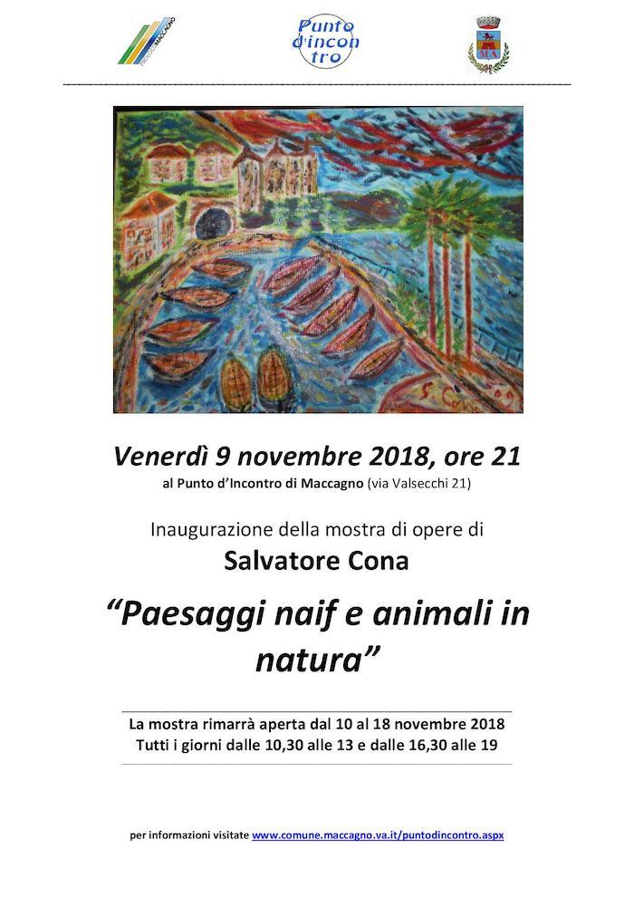 A Maccagno con Pino e Veddasca una serata dedicata all'arte, tra Cona e Brigandì