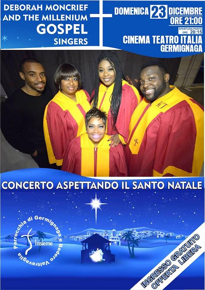Concerto G O S P E L con DEBORAH MONCRIEF & MILLENNIUM GOSPEL SINGERS