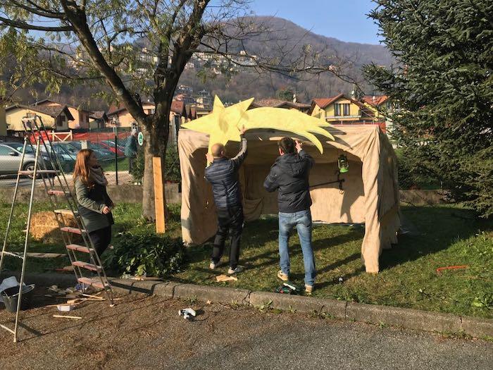 Natale, una bellissima sorpresa per i bambini della scuola dell'infanzia di Ponte Tresa