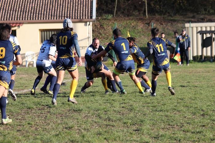 Rugby, un'altra vittoria in casa per gli Unni Valcuvia: vinto il derby contro Tradate