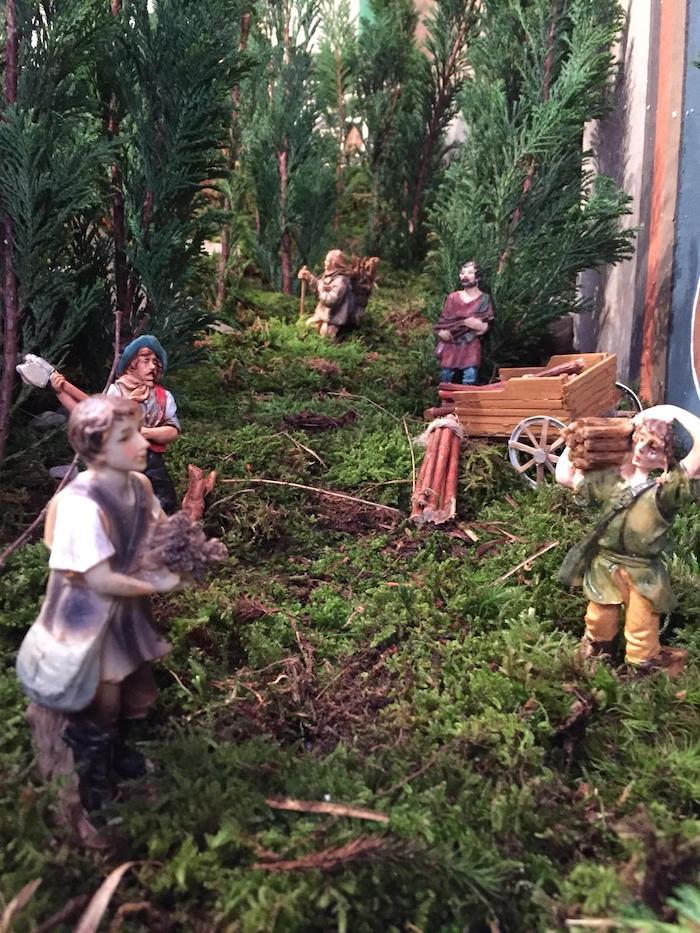 Una Monteviasco in miniatura nel presepe allestito nel borgo di montagna