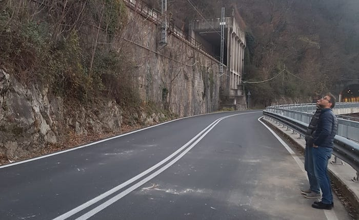 Frana Luino-Maccagno, da oggi pomeriggio si torna alla normalità in strada e ferrovia