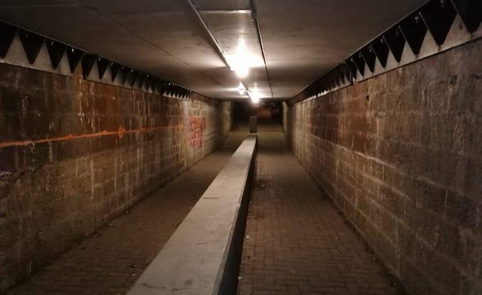 Torna la luce il sottopasso verso l'Ospedale, Agostinelli: