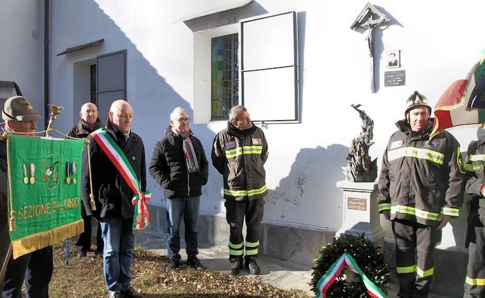Maccagno con Pino e Veddasca, ricordato il sacrificio del vigile del fuoco Luciano Pettik