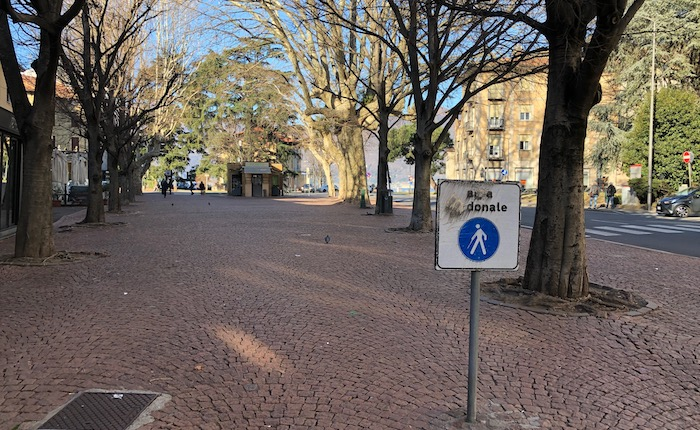 Luino, piazza Garibaldi si rifà il look.