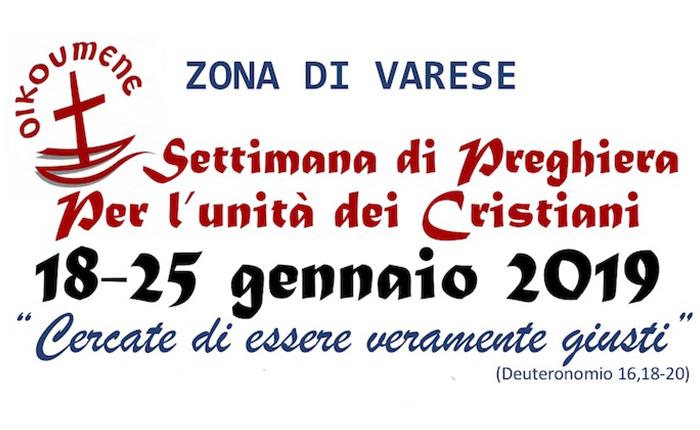 Da Varese a Luino l'unità dei cristiani: da domani al via la settimana di preghiera