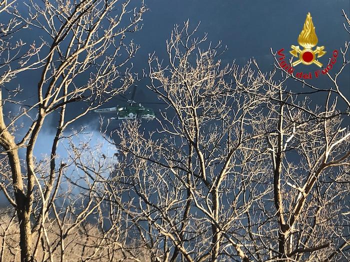 Valganna, i mezzi tornano in volo. Situazione delicata, evacuazione all'Alpe Cuseglio