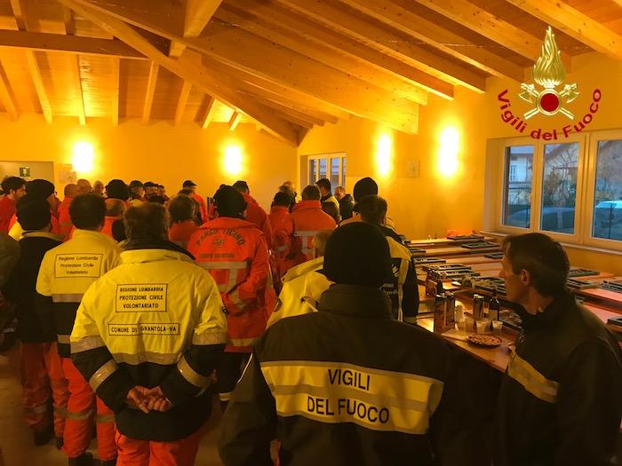 Incendio in Valganna, si lavora nei boschi: controlli, linee tagliafuoco e bonifiche