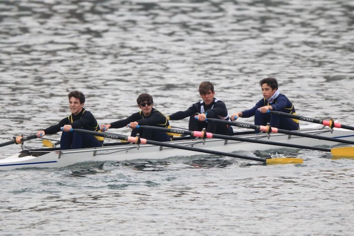 La Canottieri Luino alla 36a D'inverno sul Po, Verità primo nel 4 di coppia Master Under 43
