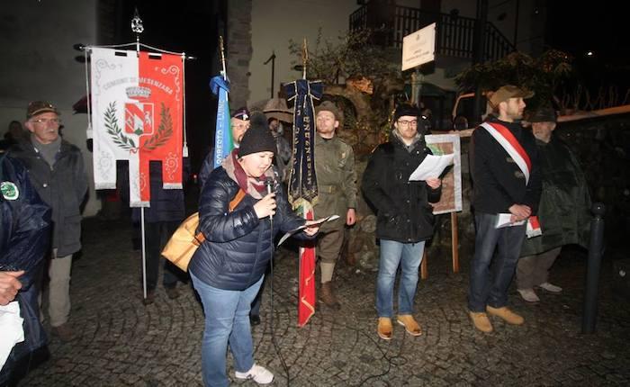 Mesenzana celebra i Martiri delle Foibe e rinnova la targa di intitolazione