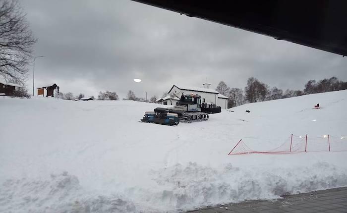 La neve avvolge la Forcora e finalmente si torna a sciare