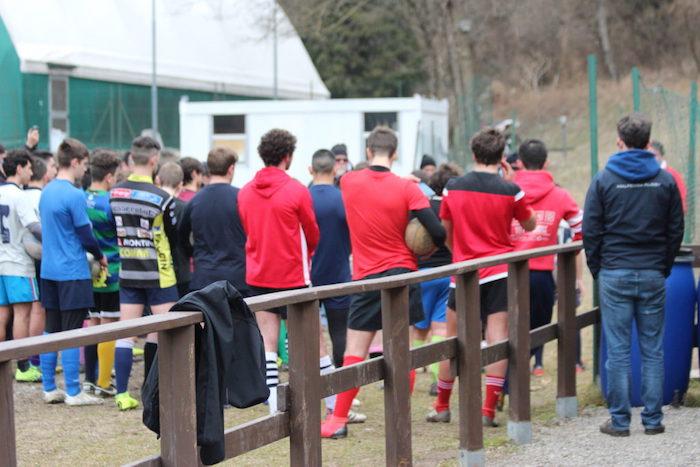 Cassano Valcuvia, Jean Luc Sans ha spiegato l'utilità dei calci nel rugby moderno