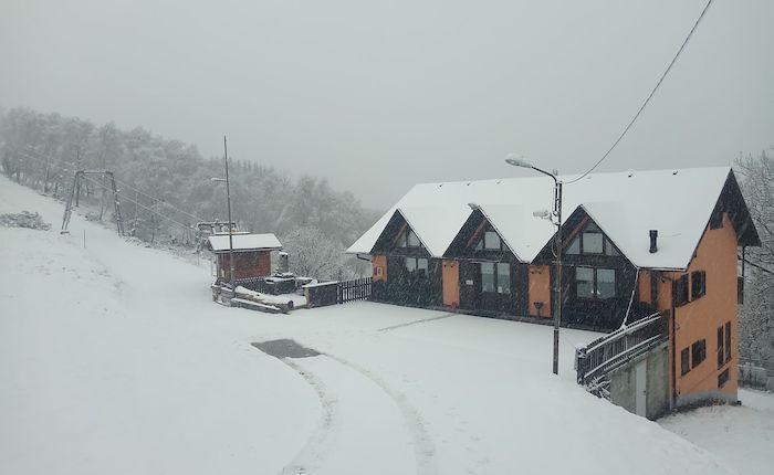 Neve di marzo in Forcora e Veddasca