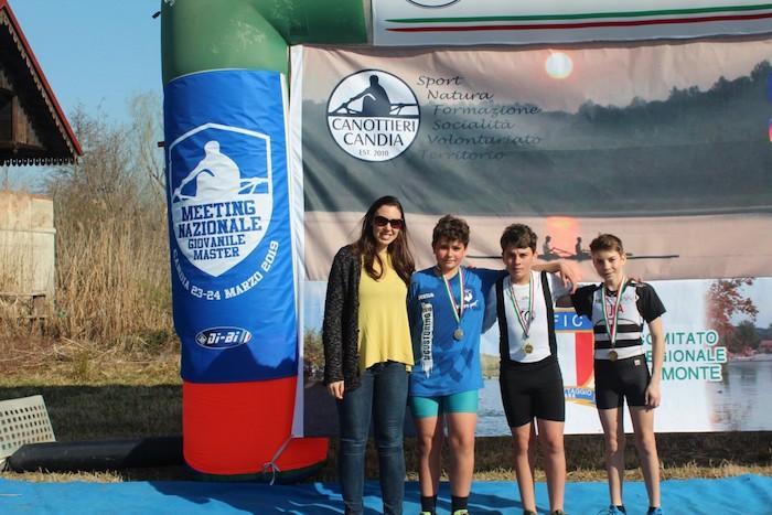 Tris d'oro al Meeting Nazionale Giovanile per la Canottieri Germignaga
