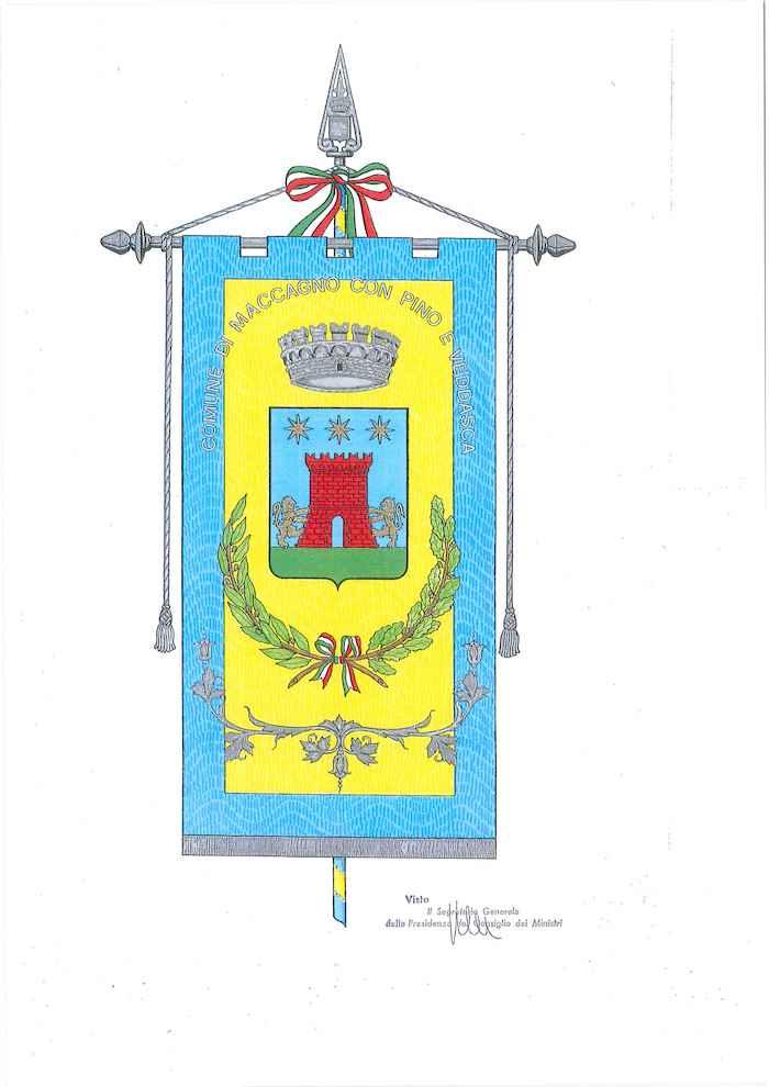 Maccagno con Pino e Veddasca, presentati il nuovo stemma e il nuovo gonfalone