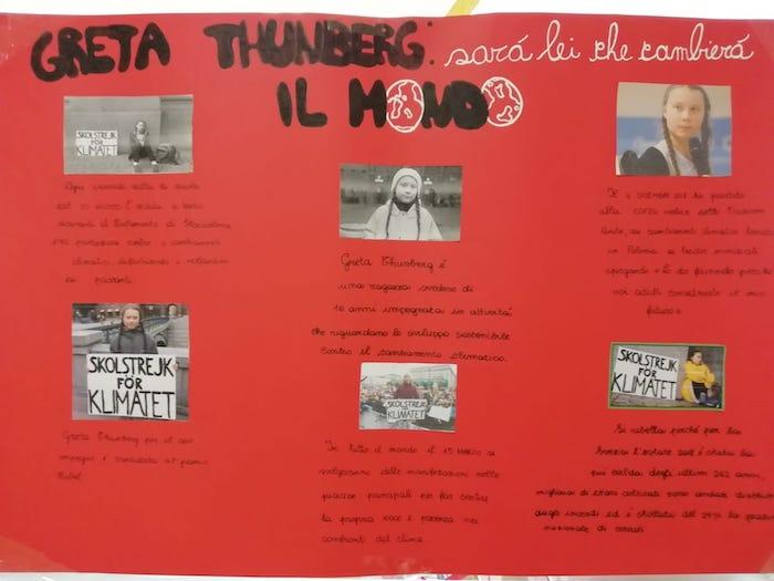 """""""Sciopero per il clima"""", la maturità degli alunni della scuola secondaria di Germignaga"""