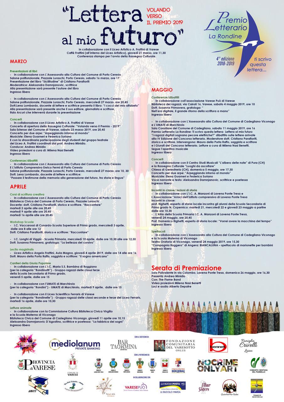 """Al via """"Volando verso il Premio"""", eventi ed iniziative per valorizzare i giovani del territorio"""
