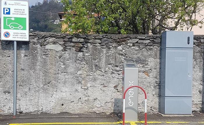 Dopo Luino e Cadegliano anche a Maccagno due postazioni per ricaricare le auto elettriche