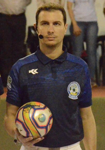 Da Brusimpiano all'Argentina: Brunacci il più giovane arbitro ad aver diretto un Mondiale Futsal