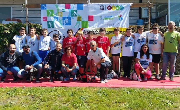 Canottieri Germignaga,Remare a Scuola 2019: oro nel quattro di coppia ragazzi scuole maschile