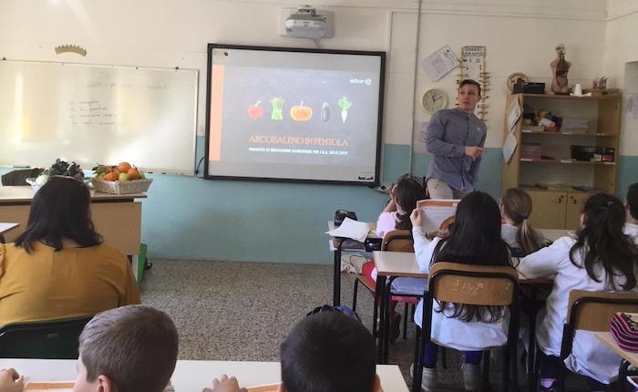 Al via il nuovo programma di educazione alimentare nella Scuola Primaria di Besano