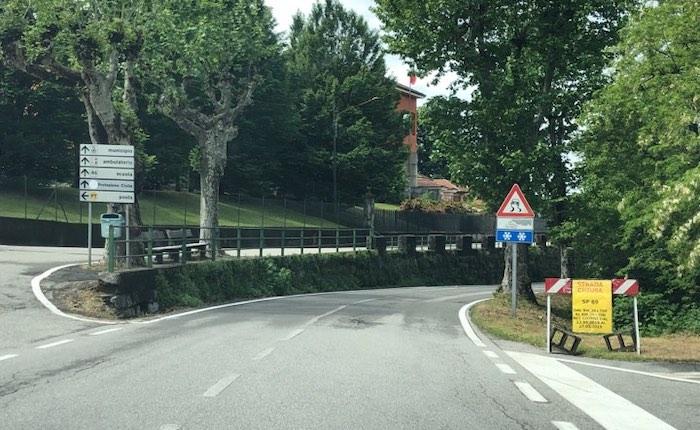 Laveno Mombello, Sospesa La Circolazione Stradale Lungo La