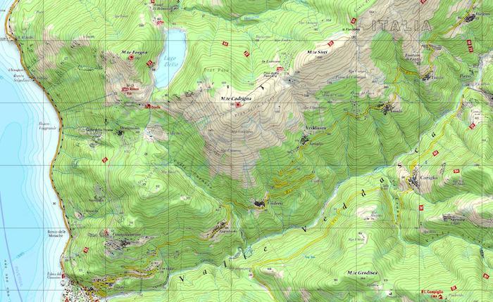 Cartina Topografica.Come Si Legge Una Carta Topografica Lo Spiega Il Cai Luino