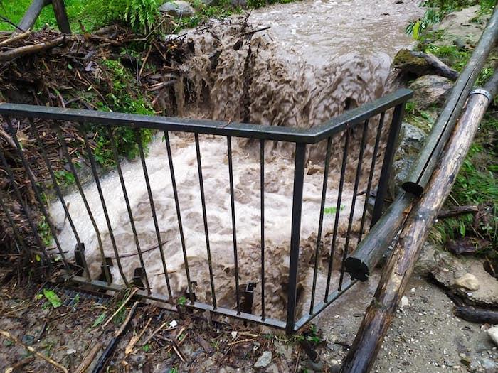 Anche Porto Valtravaglia nella morsa del maltempo, si contano i danni
