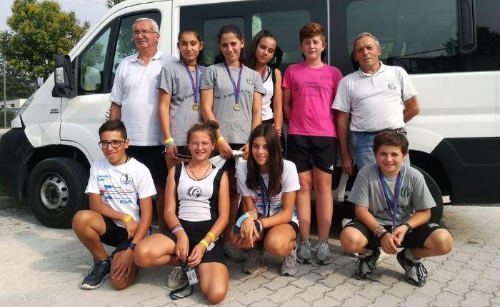 Canottieri Germignaga, Tris d'oro al Meeting Nazionale di Corgeno