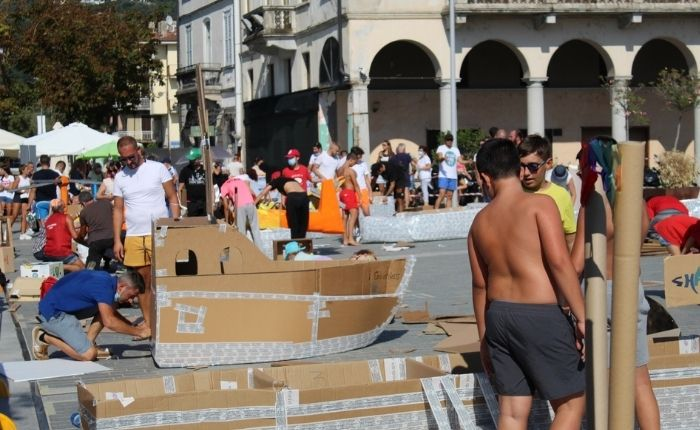 Carton Boat Race: una domenica tra sport, creatività, divertimento e inclusione